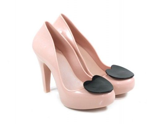 Buty na obcasie z kolekcji Mel by Melissa