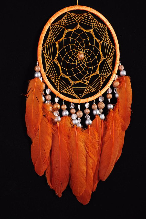 Dreamcatcher Orange Decor boho Dream Catcher Orange Dreamcatcher Dream сatcher dreamcatchers Carrot dreamcatchers wall decor handmade gift This amulet like Dreamcatcher - is not just a decoration of the interior. It is a powerful amulet, which is endowed with many properties: - Dreamcatcher protects and ensures a healthy sleep to the owner; Dreamcatcher helps in practice lucid dreaming. It helps to recognize himself in a dream, as well as protects from negative influences; Dreamcatcher h...