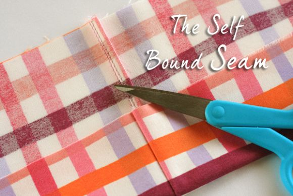 how to sew a self bound seam