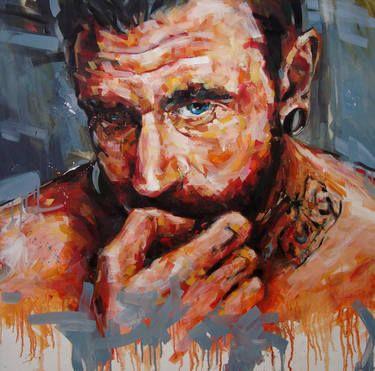 "Saatchi Art Artist Corne Eksteen; Painting, ""Transmutation 1"" #art"