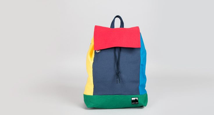 Lazy Oaf Panel Rucksack - Bags - Categories - Womens