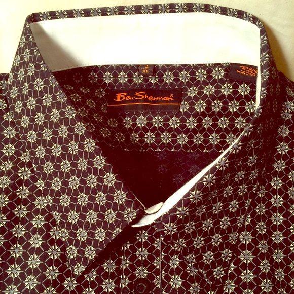 ⚡️FLASH Sale tonight BenSherman Mens XLDress Shirt Ben Sherman Mens size XL Dress shirt Ben Sherman Tops Button Down Shirts