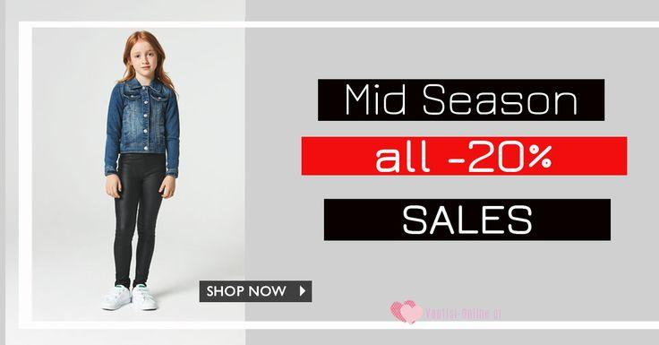 Ξεκινήσαμε με πραγματικές εκπτώσεις -20% σε όλα τα παιδικά ρούχα και παπούτσια !!! Shop here : www.vaptisi-online.gr