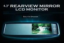 BLOW OUT SALE!  50% OFF!  4.3 Inch Rear View Monitor Tft Lcd Color Touch Screen