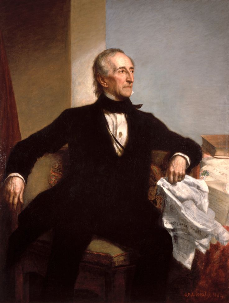 William Henry Harrison's death in 1841 made John Tyler the first vice president to succeed to the presidency without being elected to the office. To forestall constitutional uncertainty, Tyler immediately took the oath of office, moved into the White House, and assumed full presidential powers, a precedent that would govern future successions and eventually become codified in the Twenty-fifth Amendment.