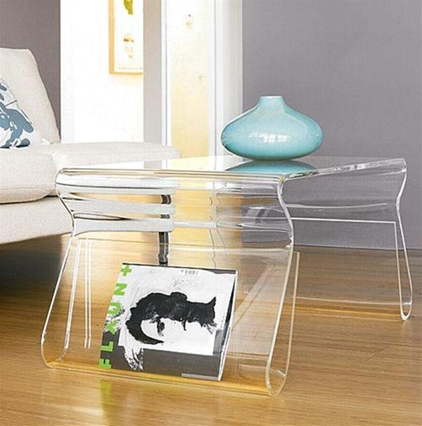 40 Lucite Couchtisch Ideen Ausgefallene Designs Aus Acryl Mehrzweckmobel Couchtisch Design Wohnzimmertische