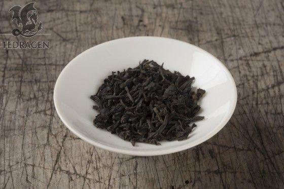 Lapsang Souchong Liten brent busk teblad tea www.tedragen.no  Foto: www.tbfoto.no #tea #lapsang #lapsangsouchong #blacktea #smokey