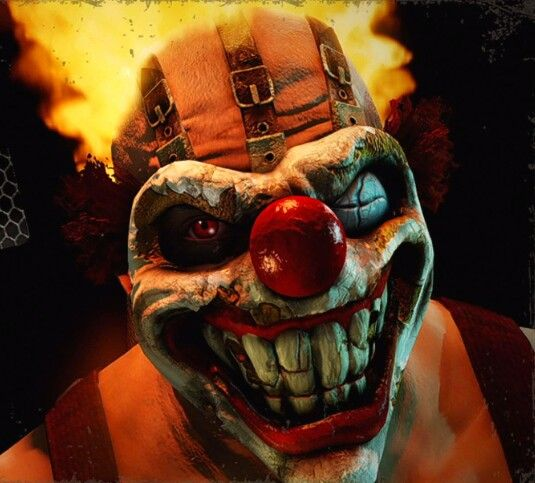 96 best evil clowns images on pinterest evil clowns - Sweet tooth wallpaper twisted metal ...