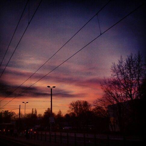 Sunset in Olomouc