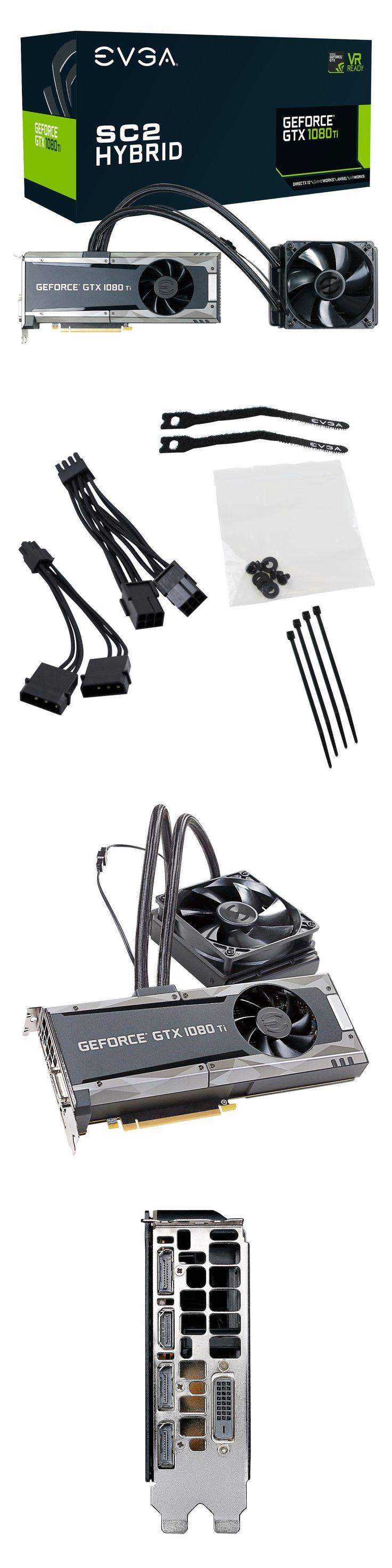 computer parts: Evga Geforce Gtx 1080 Ti Hybrid Gaming Video Card, 11G-P4-6598-Kr, 8Gb Gddr5x -> BUY IT NOW ONLY: $1109.99 on eBay!