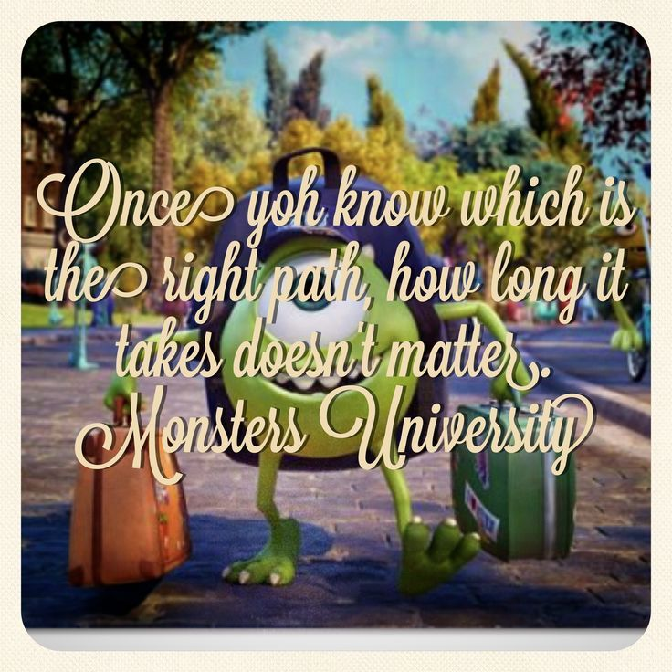 The 25 best monsters university quotes ideas on pinterest monsters university never give up your dream voltagebd Images