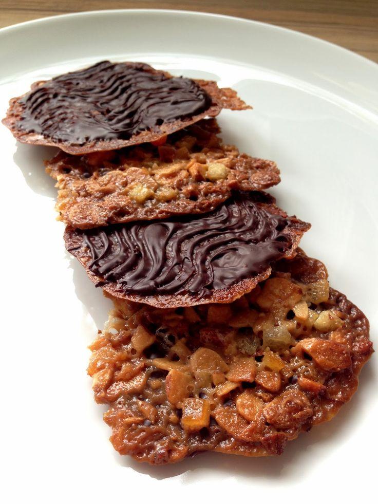 Great british bake off bake-along - florentines (Delia recipe)