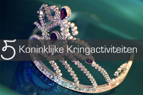 Zoek je nog inspiratie voor Koningsdag? >> 5 Koninklijke Kringactiviteiten - Juf Bianca