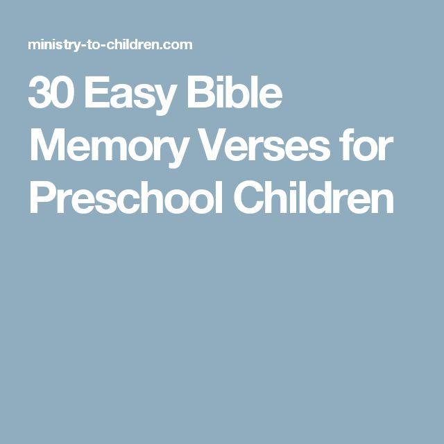 Best 25 Preschool Bible Verses Ideas On Pinterest