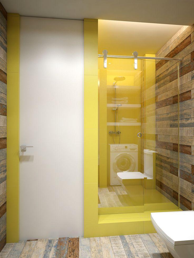 Die besten 25+ Yellow open style bathrooms Ideen auf Pinterest - innendesign aus polen femininer note