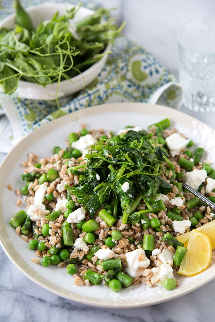 Insalata di farro con fagiolini primaverili - What's Gaby Cooking