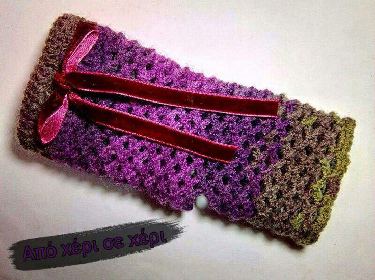 #crochet #fingerless #fingerlessgloves #gloves #πλεκτα #γαντια #χωρις #δαχτυλα