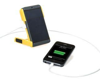 Chargeur solaire pour téléphone.
