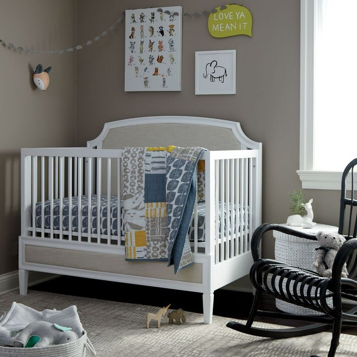 Modern Mix Crib Bedding and Quilt | The Land of Nod
