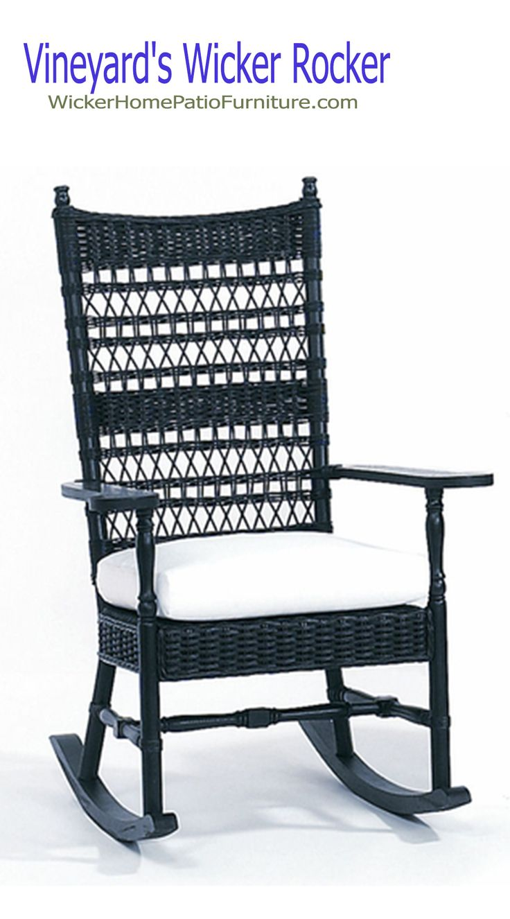 Lexington furniture chair fabric gold additionally ikea swivel chairs - Vineyard S Wicker Rocker Add One Or More Vineyard S Rocking Chairs And They Will Quickly Become