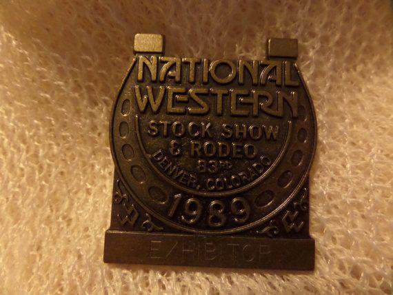 Vintage Colorado Denver National Western Stock by SomethingGeeshy
