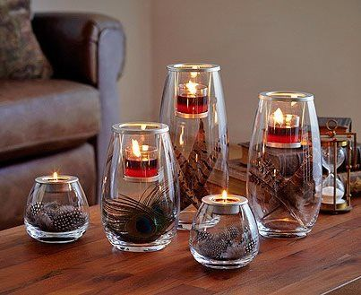 17 best images about partylite decorating ideas on for Creative candle holders