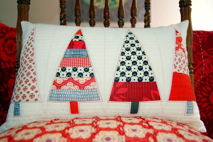 another Christmas pillow   Blogged Here   Meredith Daniel   Flickr