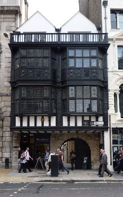 Inner Temple Lane. Last remaining Jacobean Townhouse in London. Part of the Secret London series by Historic UK