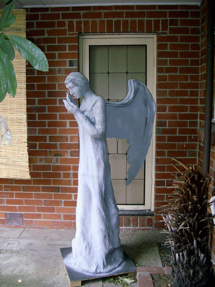 Doctor Who Weeping Angel Halloween Decoration