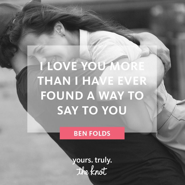 love quotes for invitations%0A Inspirational Love Quote  Ben Folds