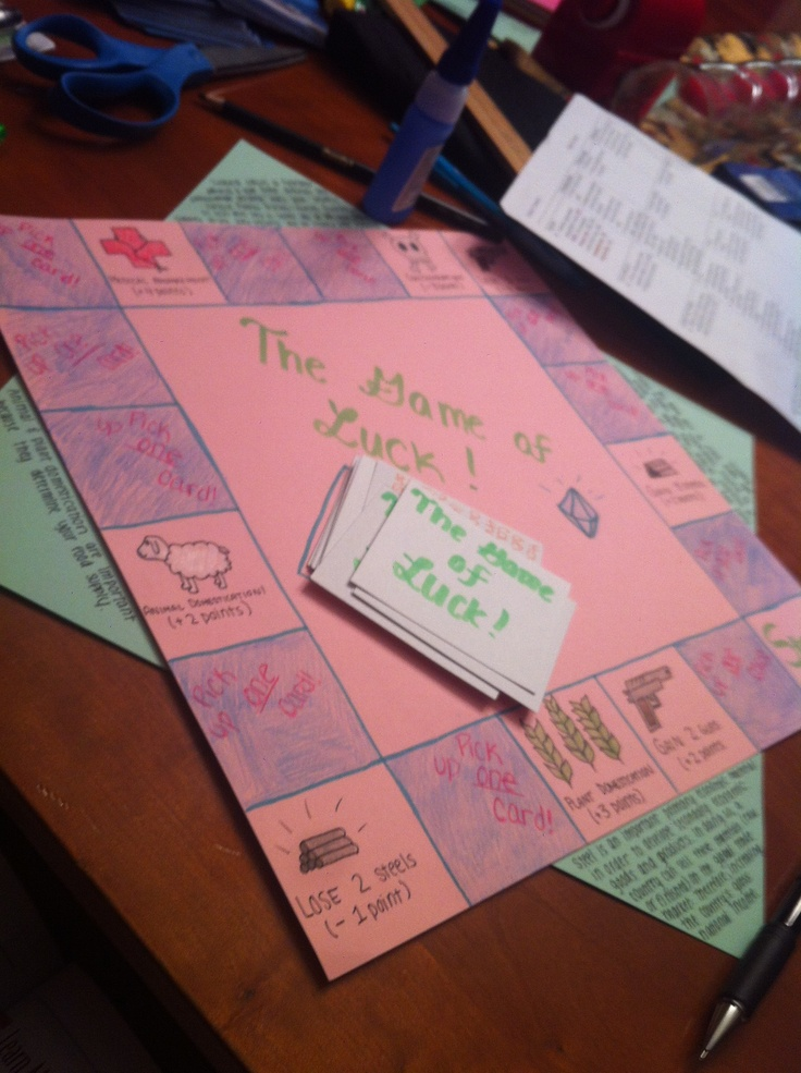 17 Best Ideas About Homemade Board Games On Pinterest