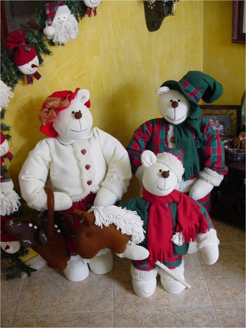 christmas bears By Angeline