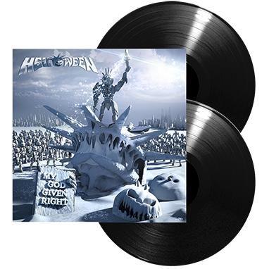 """L'album degli #Helloween intitolato """"My God-Given Right"""" su doppio vinile nero."""