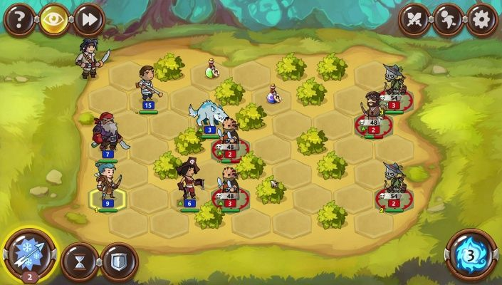 Braveland Heroes is a Free-to-play Strategy Turn-Based