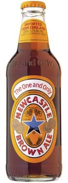 Newcastle Brown Ale beer - One my favorites so far, easy easy to drink, light taste, nice and crisp especially when chilled
