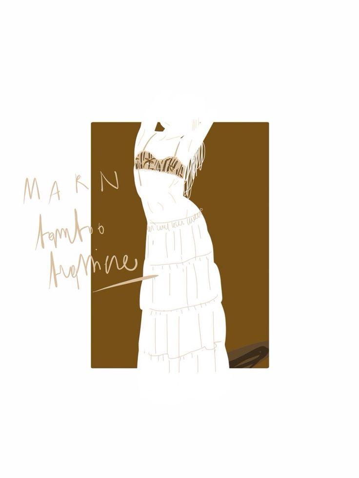 Gipsy look / Open Toe, fashion illustrated / opentoeillustration.com