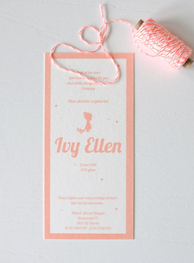 Geboortekaartje-karton-silhouette-Ivy-Ellen-achter2