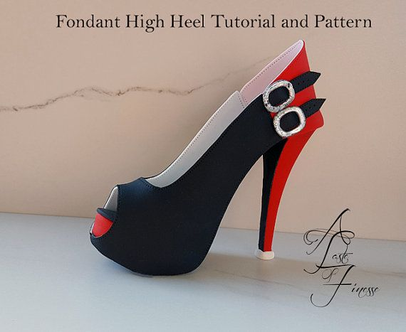 Pdf Tutorial And Pattern Fondant High Heel By