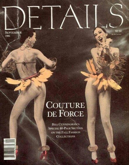 Cover Details magazine September 1986