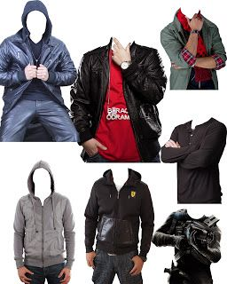Men Winter Clothes Psd - Lucky Studio 4U