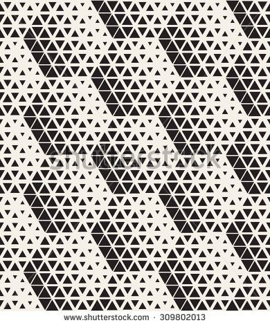 Vector seamless pattern. Modern stylish texture. Repeating tiles from small…