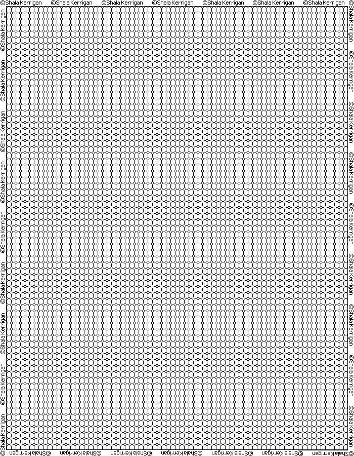 Feuille Pixel Art A Imprimer Vierge