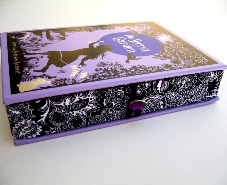 Book Clutch Purse- The Secret Garden