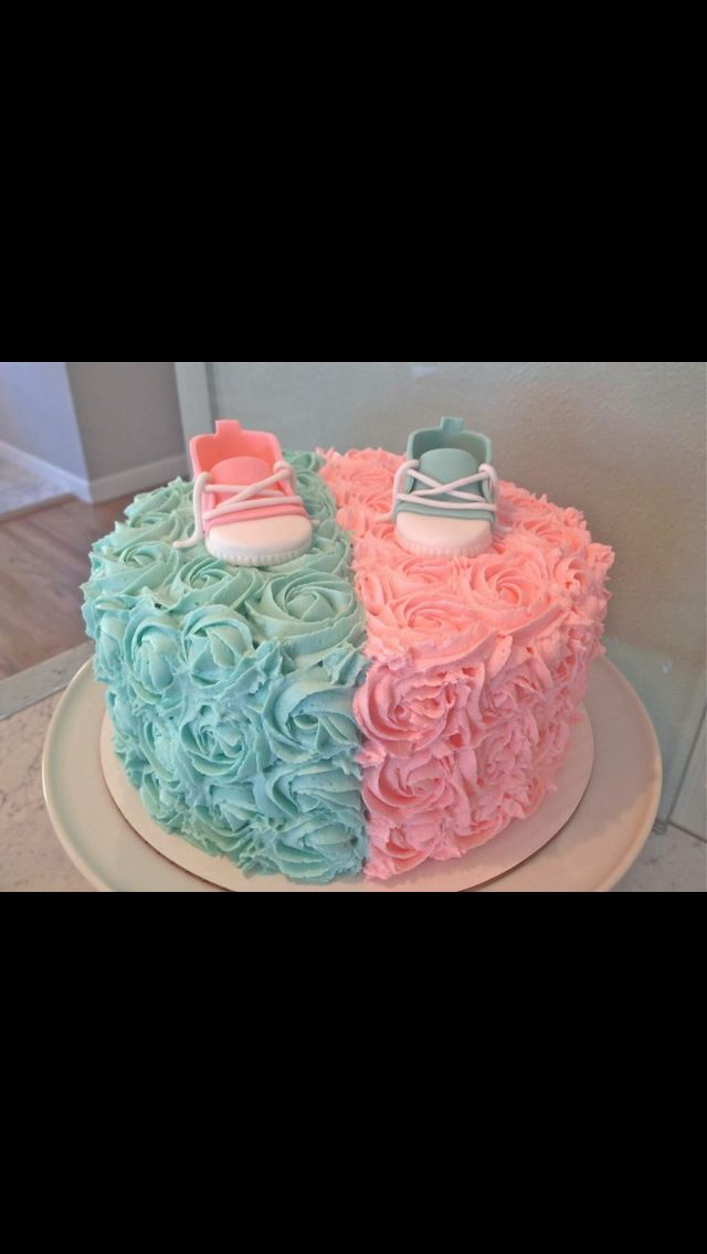 Gender reveal idea! How cute!!