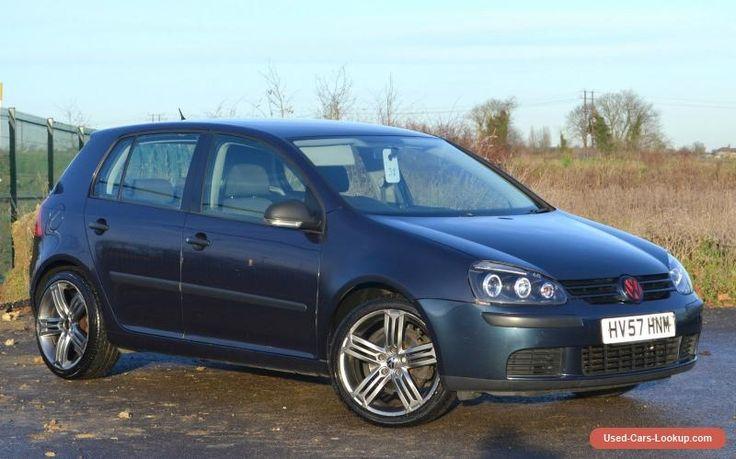 2007 (57) VOLKSWAGEN GOLF 1.9 TDI S (105) 5dr-BLUE- SAT NAV - ALLOYS - MOT MARCH #vwvolkswagen #golftdis #forsale #unitedkingdom