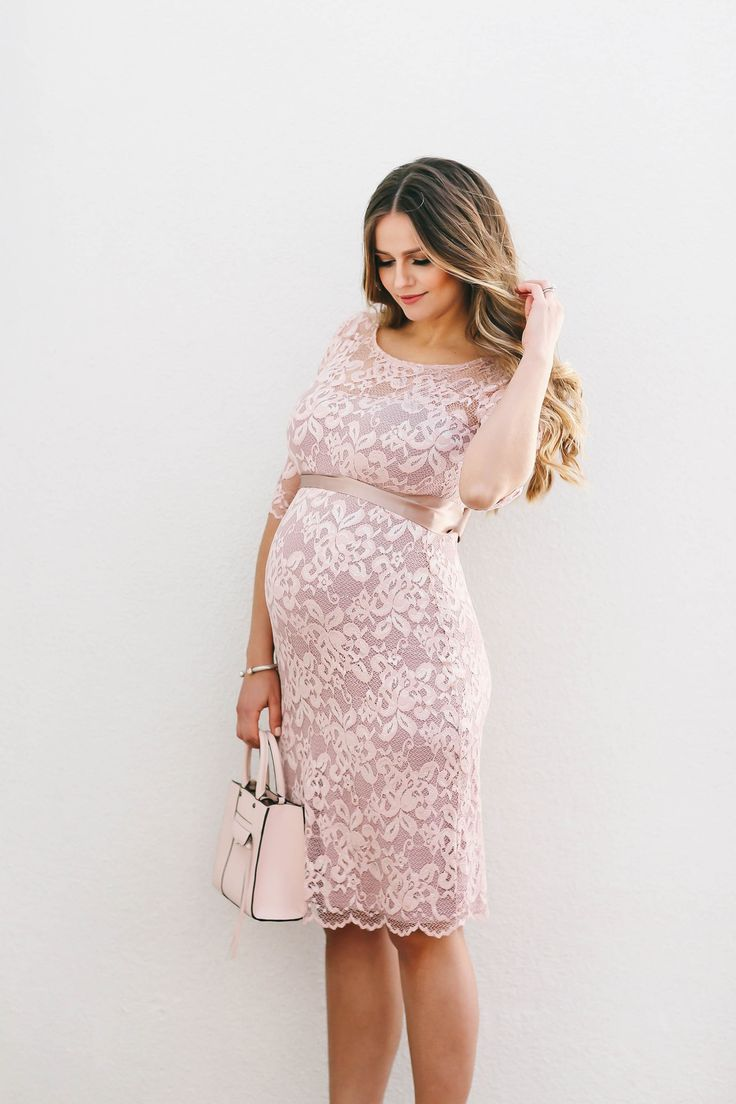 Bumpstyle blush pink lace maternity dress blush pink bumpstyle blush pink lace maternity dress blush pink maternity dresses and chic maternity ombrellifo Gallery