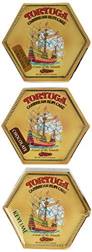 Tortuga Rum Cake Pick your flavors 4Ounce Cake 3 Pack Mix From Original Golden  Coconut Banana Pineapple Key Lime Chocolate * Visit the image link more details.