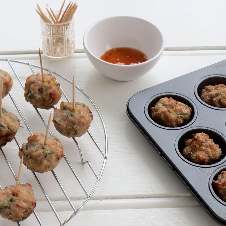 """#RecipeoftheDay: Thai Chicken Balls by Dot Vajda - """"Best recipe ever."""" - lesleykent"""