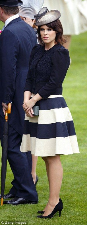 Party princess: Eugenie is said to have been planning the lavish knees-up for months...