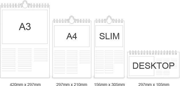 Calendars Sizes Jpg 627 300 Calendar Bar Chart Chart